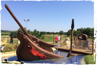 HM Adventure Golf - Pirate Island - Ramsdale