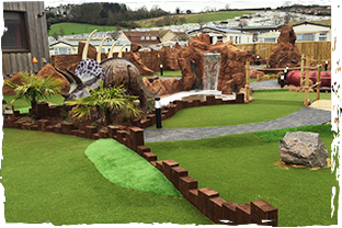 HM Adventure Golf - Jurassic Park - Ladram Bay