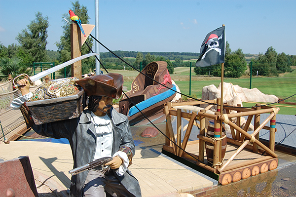 HM Adventure Golf - Ramsdale - Pirate Island