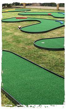Castleford Mini Adventure Golf Course Pirate Installation
