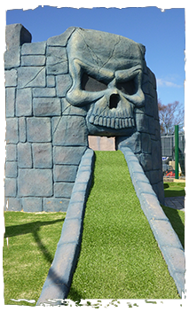 HM Adventure Golf - Pirate Island - Norfolk